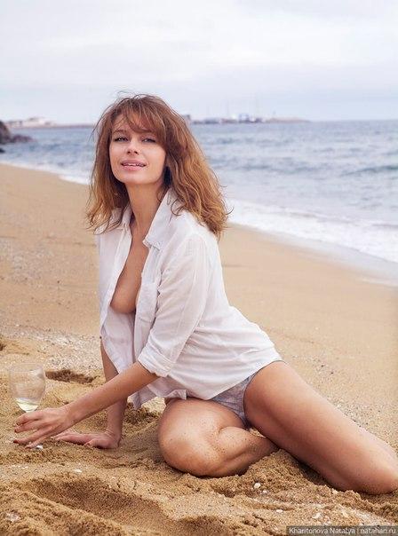 Любовь толкалина голая на пляже фото 423-892
