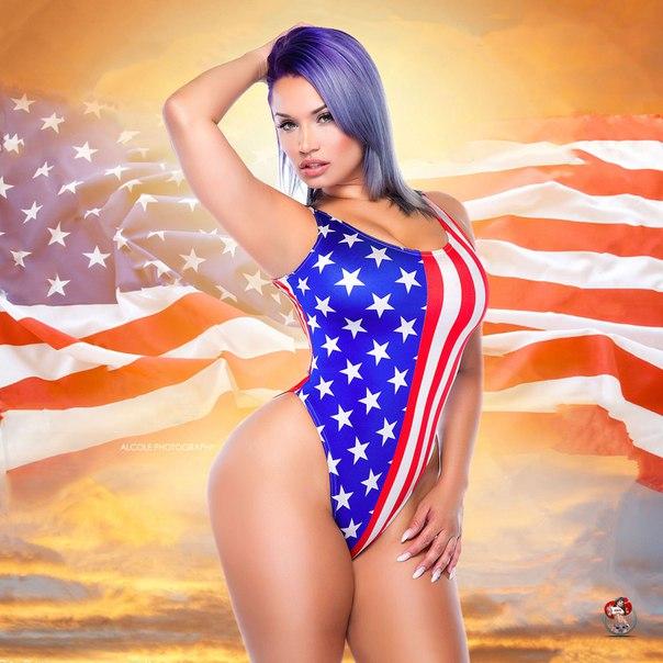Nude girl full body fishnet