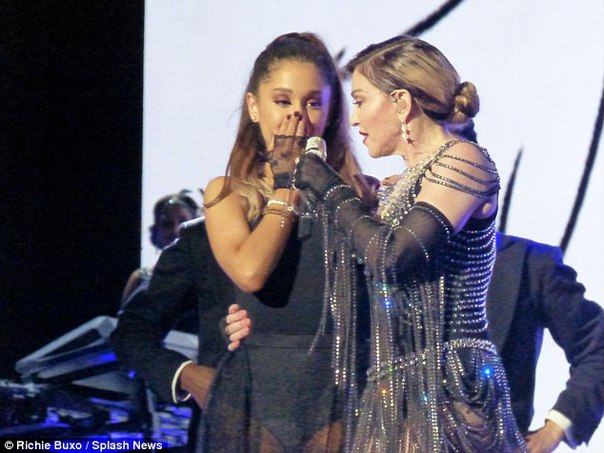 Ariana Grande Drops Epic Is Woman With Madonna Perfectgirls 1